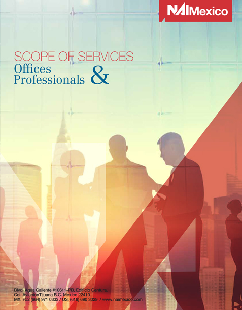 NAI Mexico Scope of Services: Offices & Professionals