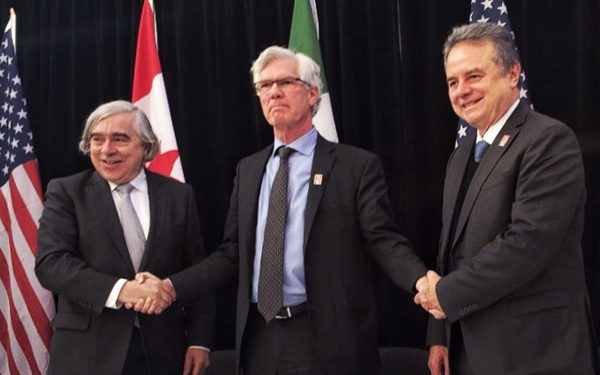 Mexico, US and Canada sign energy MOU